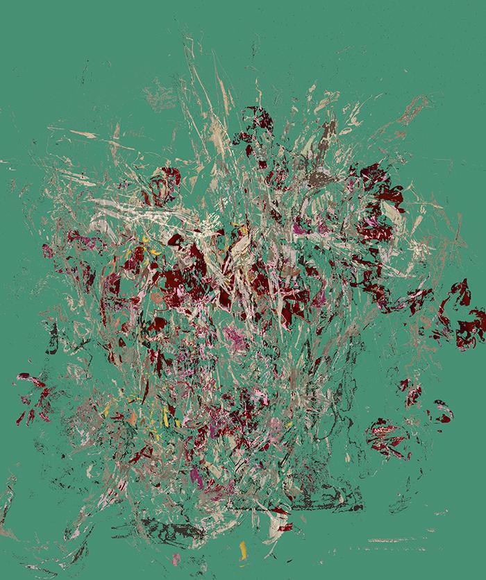 Digitale Fotoarbeiten, digital works, Flowers. faded Flowers, tulip, bouqet